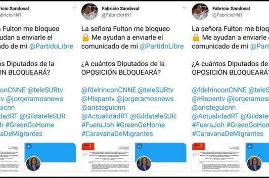 Censura por bloqueo de cuentas oficiales de funcionarios en twitter