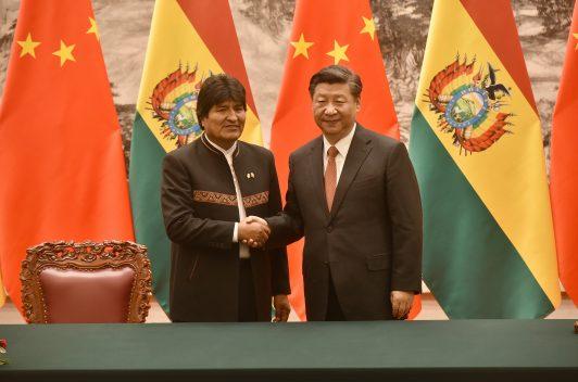 """Evo pide ayuda a China  para enfrentar """"guerra digital"""""""