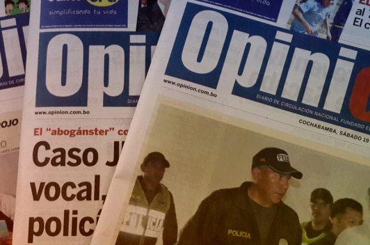 Amenazan a diario boliviano con un atentado