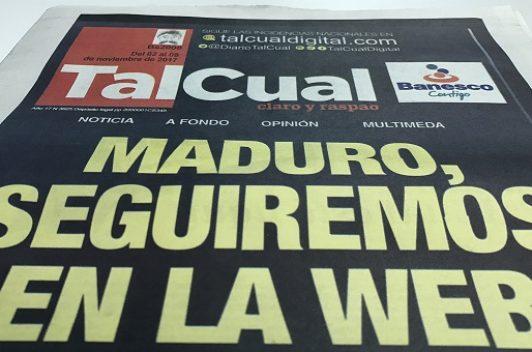 Ciberataque afectó el portal de Tal Cual por 19 horas