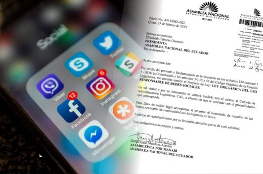 Rechazo a proyecto de ley para regular redes sociales