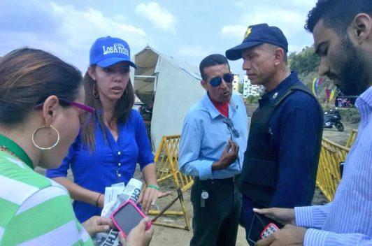 Funcionario policial agredió a la periodista Yoerly Viloria