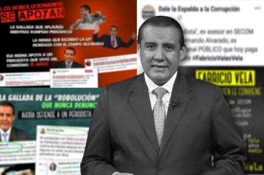 Campaña contra periodista por entrevista a expresidente