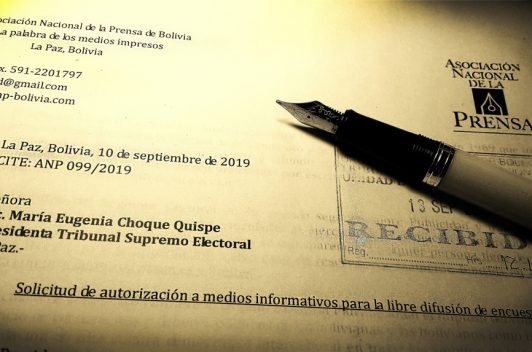 ANP pide que encuestas sean de libre difusión