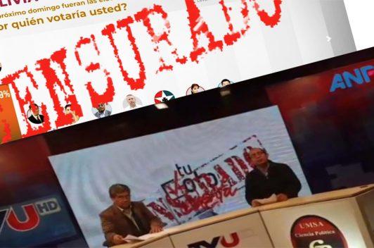 """Alianza """"Tu Voto Cuenta"""" denuncia censura"""