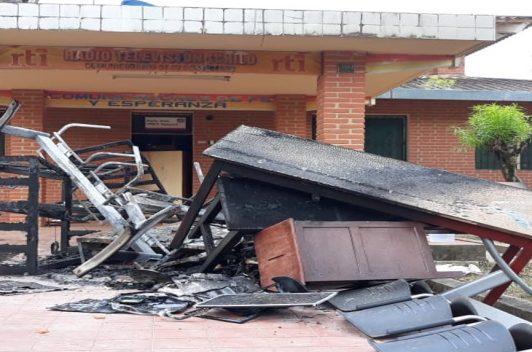 Bolivia: Ataque silencia a Radio Televisión Ichilo